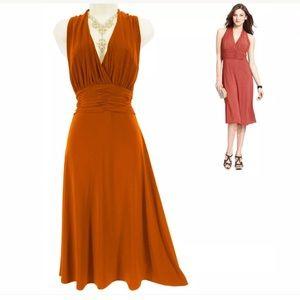 14 Large XL▪️SEXY CORAL/ORANGE MARILYN DRESS